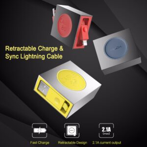 ROCK Retractable USB Lightning Cable