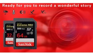 Sandisk Extreme Pro SD Card 64GB High Speed UHS-II
