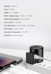 Universal Travel Wall Charger