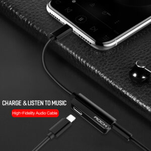ROCK iPhone Splitter Cable